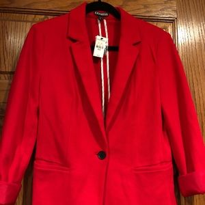 Express Red Blazer, brand new with tags!